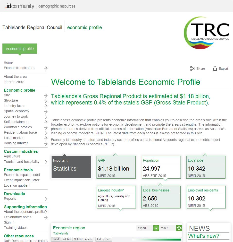 Tablelands Regional Council