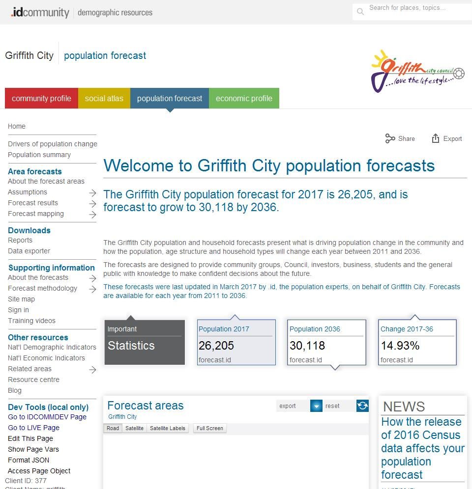 Griffith City
