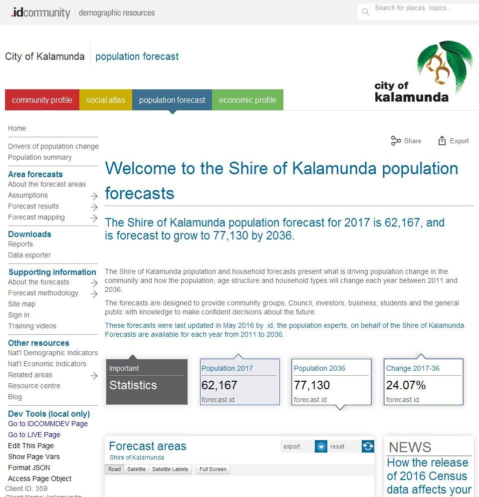City of Kalamunda