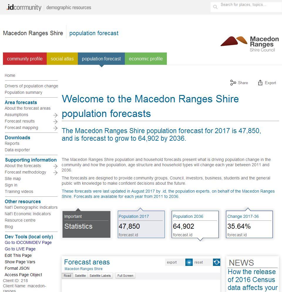 Macedon Ranges Shire