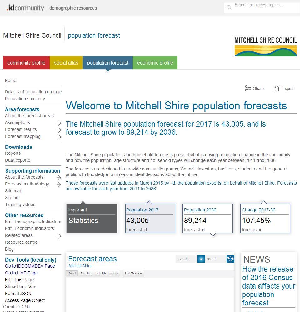 Mitchell Shire