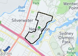 Location of Clarence Gardens