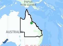 Location of Queensland