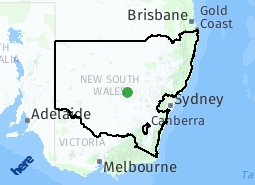 Location of Regional NSW