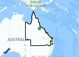 Location of Regional QLD