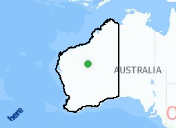 Location of Regional WA