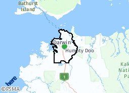 Location of Greater Darwin