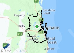 Location of South East Queensland