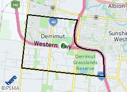 Location of Derrimut