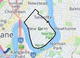 Location of New Farm