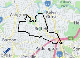 Location of Red Hill
