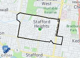 Location of Stafford Heights