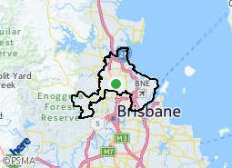 Location of Northern Outer Brisbane