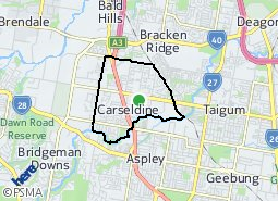 Location of Carseldine