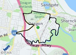 Location of Deagon