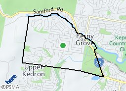 Location of Ferny Grove
