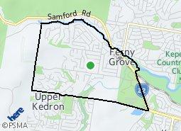 Location of Ferny Grove
