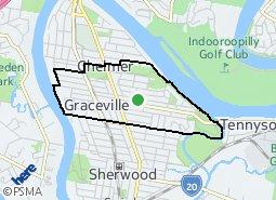 Location of Graceville