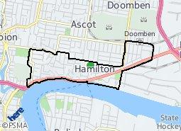 Location of Hamilton