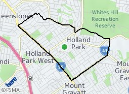 Location of Holland Park
