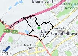 Location of Blair Athol