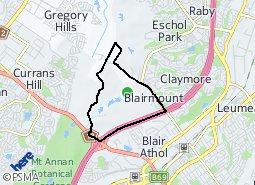 Location of Blairmount
