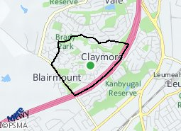 Location of Claymore