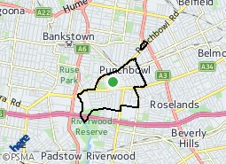 Location of Punchbowl