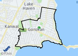 Location of Gorokan