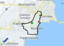 Location of Kanwal - Wyongah