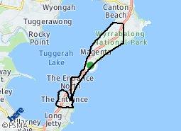 Central Coast Australia Map.The Entrance The Entrance North Australian Aboriginal Population