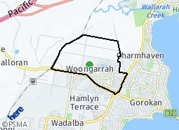Location of Woongarrah