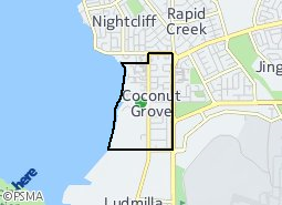 Location of Coconut Grove