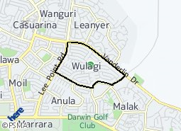 Location of Wulagi