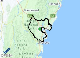 Batemans Bay Rural Hinterland Suburb Map The center of each city listed is within 78 km of batemans bay, australia. batemans bay rural hinterland suburb map
