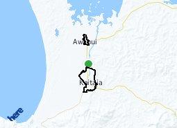 Location of Kaitaia East - Kaitaia West - Awanui