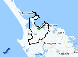 Location of Karikari Peninsula-Maungataniwha