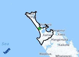 Location of North Ward