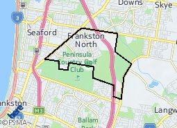 Location of Frankston North