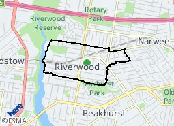 Location of Riverwood