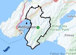 Location of Hutt City