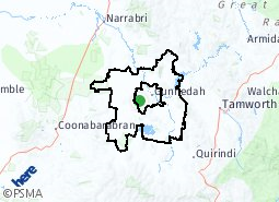 Location of Rural Remainder
