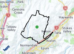 Location of Belmont