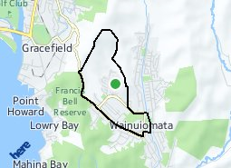 Location of Parkway