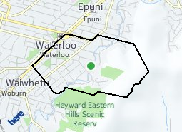 Location of Waterloo East