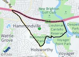 Location of Hammondville