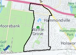 Location of Wattle Grove