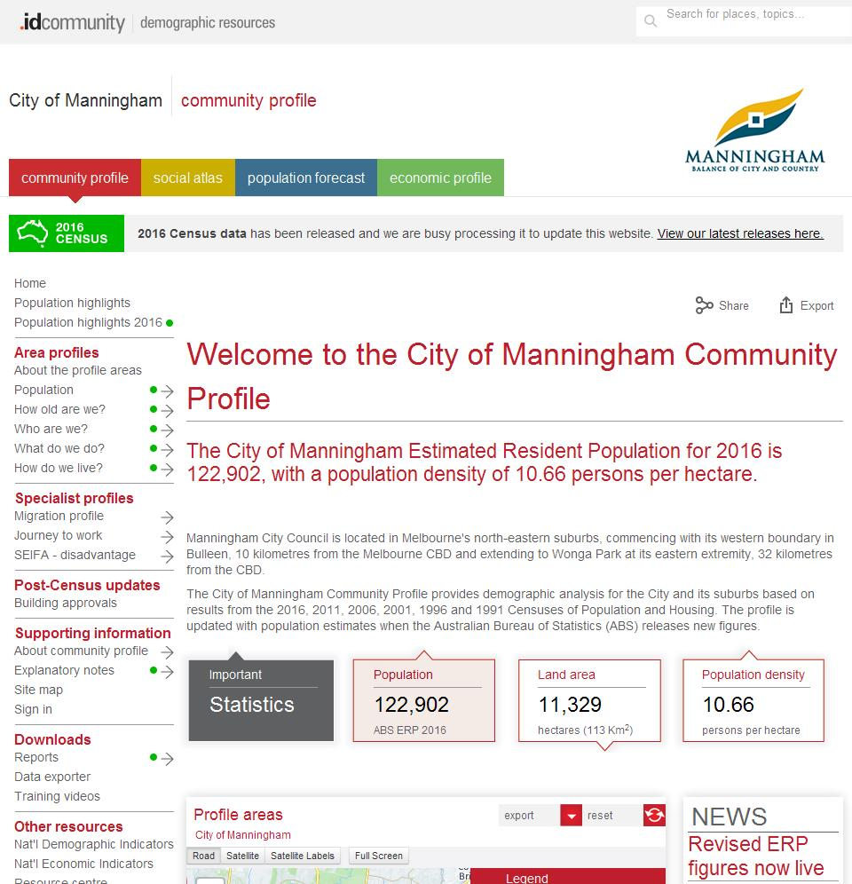 City of Manningham