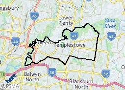 Location of Heide Ward