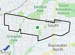 Location of Croydon South